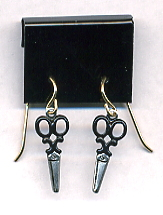Scissor Earrings - Small