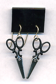 Scissor Earrings - Large
